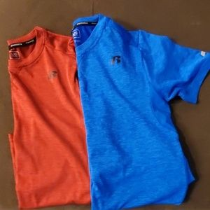 2 boys Russell tees size large 10/12